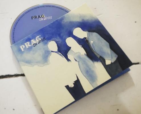 "PRAG ""Zu dritt"" - CD Cover"